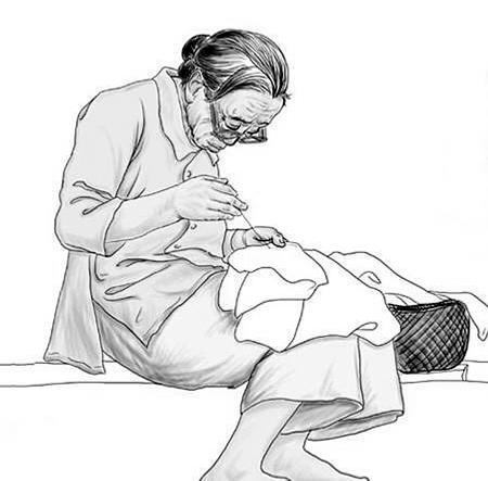 八旬老母亲高位截瘫儿