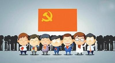 """在""""领导人是怎样炼成的""""的视频中,包括习近平在内的7名常委及中图片"""