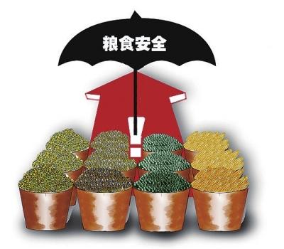 程国强称,强推粮食自给率不符合现行的政策