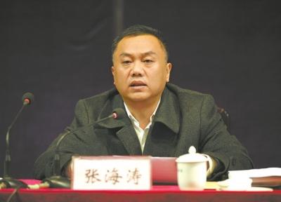 3月4日,许昌市副市长张海涛就如何贯彻落实
