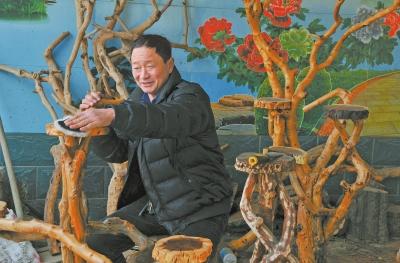 内黄枣枝变美景环保又增收
