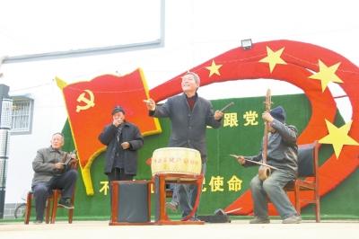 睢县文体活动提振群众精气神