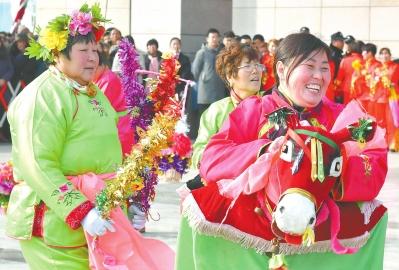 庙会上演文化大餐