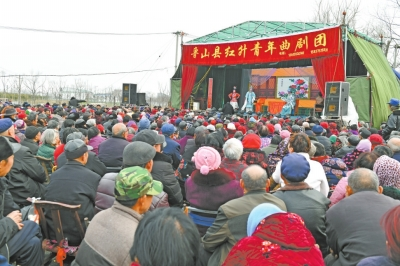 汝州市群众文化活动如火如荼