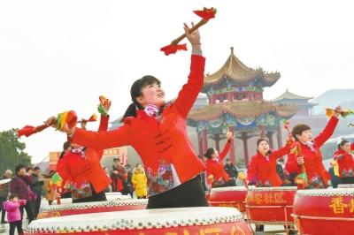 ?#25628;?#21439;第二十届灵山文化庙会开幕