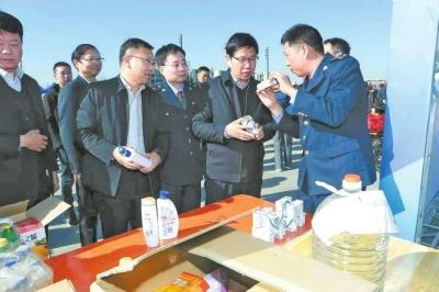 安阳县组织开展消费者权益日宣传活动