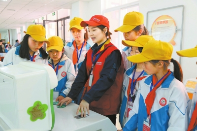 汝阳县供电公司开展社会公众开放日活动