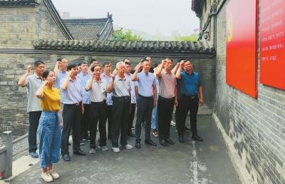 汝阳县 追寻红色足迹不忘初心使命