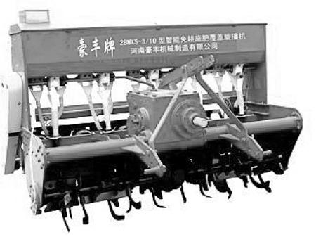 豪丰旋耕机变速箱结构图