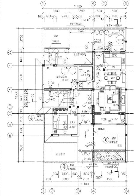 三间瓦房格局设计图展示