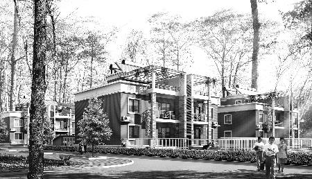 在曾经历了70年代盖瓦房、80年代加走廊、90年代盖楼房的农村建房热潮后,我们发现,由于缺乏整体规划、设计指导和技术支持,农村住宅出现了南北不分、如出一辙的状图片