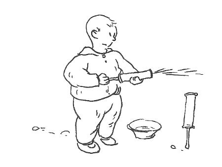 少年书包的简笔画步骤图解