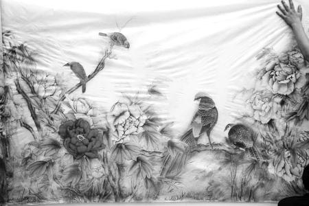 百米长卷《盛世牡丹图》拍得3600万元 - 莫家楼人王学仁 - 王学仁. 中卫莫家楼研究室