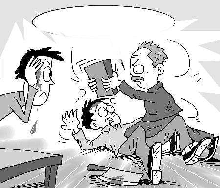 农民爸爸手绘漫画