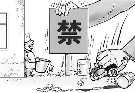 摊贩用几个简易的保温桶出售饭菜