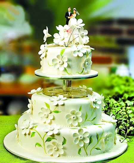 一个蛋糕,带出婚礼甜蜜范儿