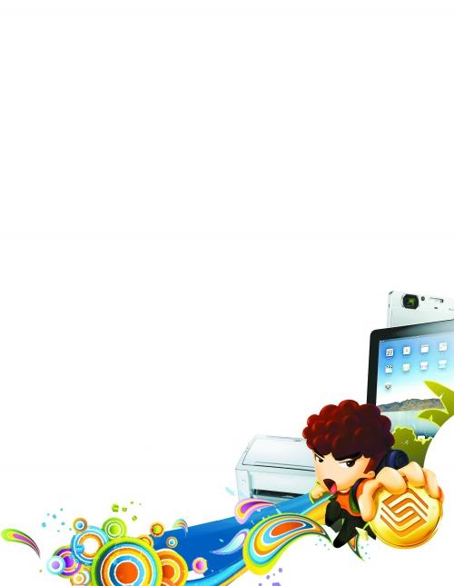 ppt 背景 背景圖片 邊框 模板 設計 相框 500_645 豎版 豎屏