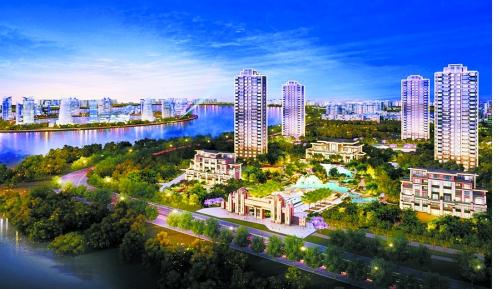 新中式经典豪宅外观