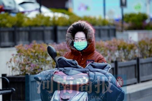 翻出来的棉裤可以收一收了 郑州明天最高温回归20℃