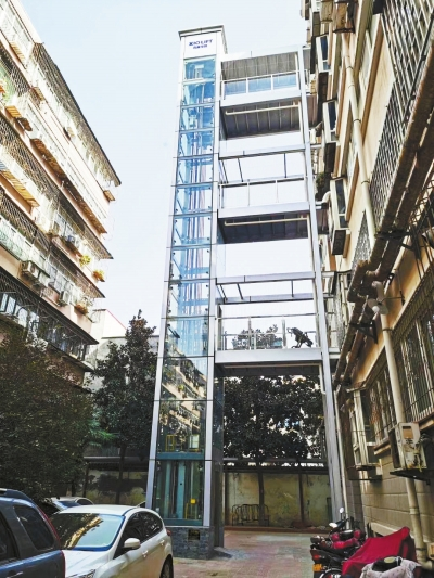 郑州已完成既有住宅加梯64部 支持平层入户设计