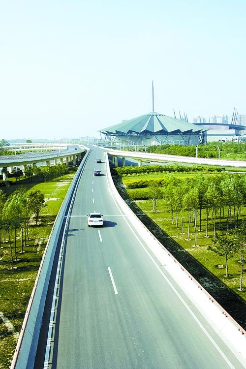龙子湖风景区道路系统