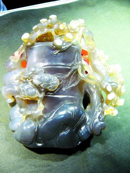 玉石雕刻梅花步骤图解