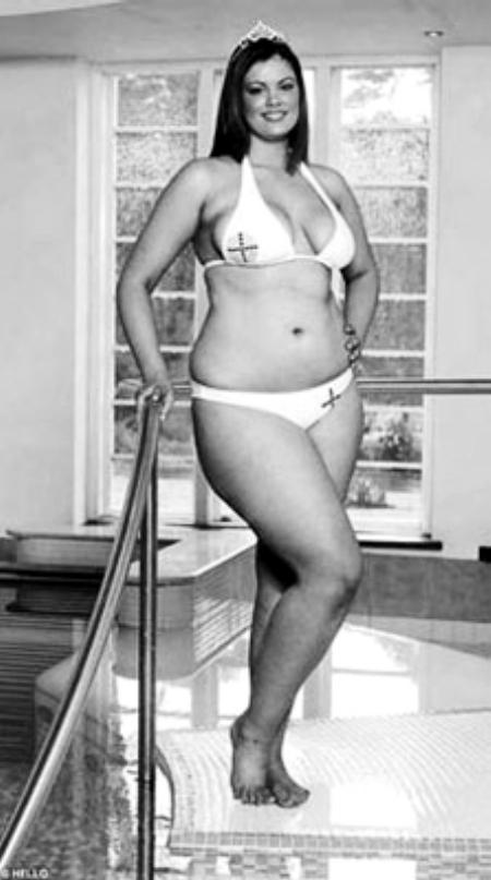 偏胖女人生活照
