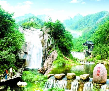 秦皇岛祖山风景区龙云谷