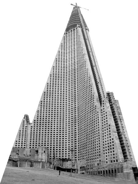 整体结构为三角金字塔形