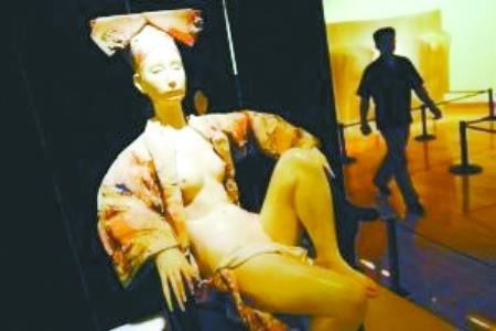 美国大胆私处人体艺术