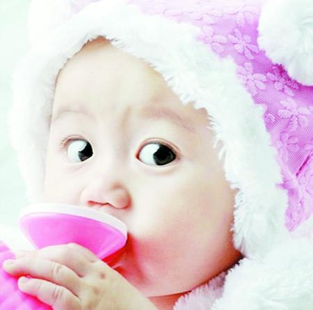 宝宝怕怕的可爱图片