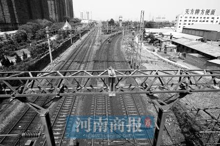 城市,有网友建议将铁路死角建成铁路主题公园.近日,大河网一高清图片