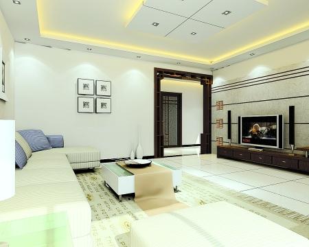 客厅打算用投影,不装电视,电视墙怎么装修呢?