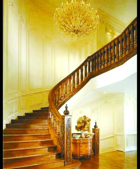 帝皇欧式楼梯吊灯