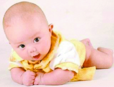 可爱宝贝洋人图片