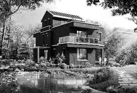 老式别墅内部结构图