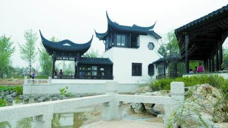 山东园展区根据青岛,威海