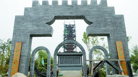 山东园展区根据青岛,威海,日照,胶南沿海城市的特征,将各园区依据
