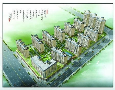 2万平方米,全部为框架剪力墙结构的高档住宅,户型设计上采用全采光,短