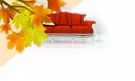 丰收的秋天五谷粘贴画