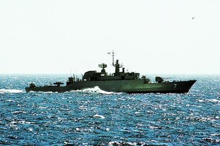 派军舰去美国海域