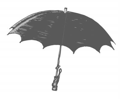 戴雨伞的男生头像