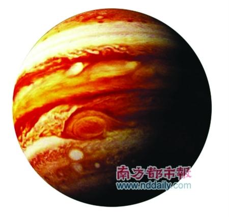 木星还是太阳系中自转最快的行星