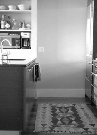 灰色地板配窗帘灰色配米色窗帘图片15