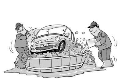 小汽车简笔画步骤图解