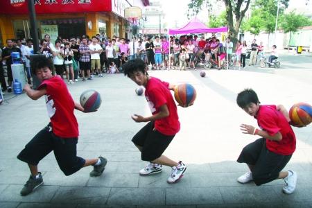 街头篮球秀