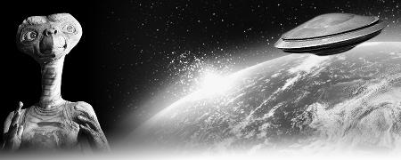 ufo简笔画图片带颜色
