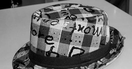 海绵制作帽子步骤图解