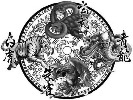 中国古代的四大神兽图片