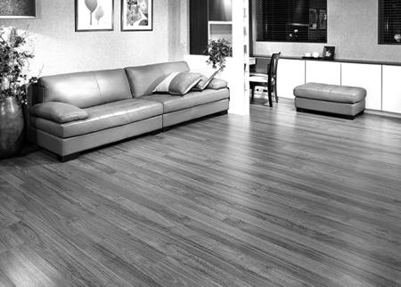 灰色地板欧式效果图片